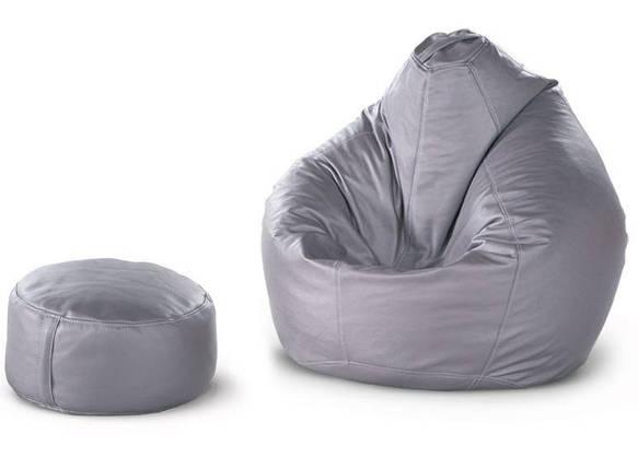 Кресло-груша + пуф-цилиндр, фото 2