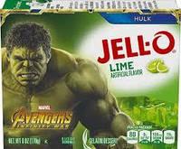 Желе Jell-o Лайм