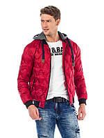 Куртка демисезонная мужская красная M Cipo&Baxx