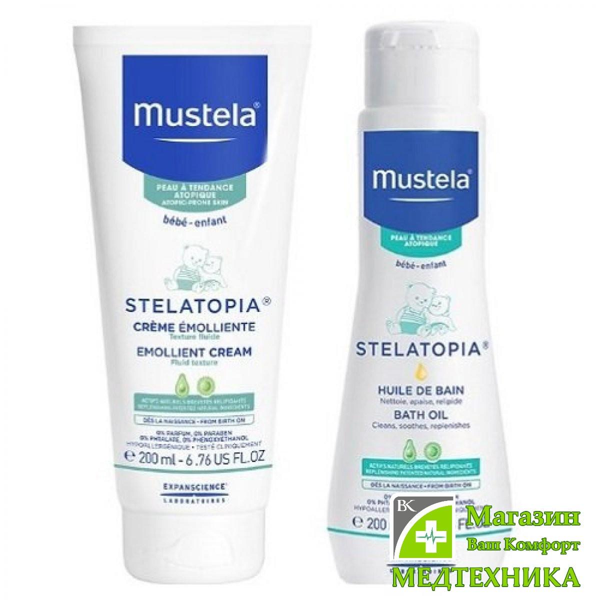Набор Mustela «Уход за атопической кожей»