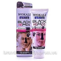 Маска для лица от черных точек Wokali Black Heads