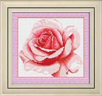 Набор для рисования камнями (холст) «Роза» LasKo