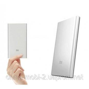 Внешний портативный аккумулятор Xiaomi Power Bank Mi 5000 mAh Silver, фото 2