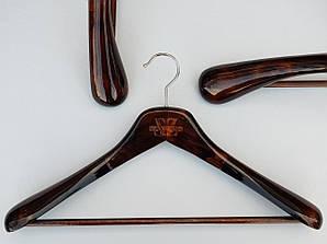 Плечики длиной 45 см вешалки деревянные Mainetti Kazara Royal-4
