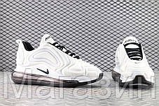 Мужские спортивные кроссовки Nike Air Max 720 Carbone White/Black AR9293-100 (Найк Аир Макс 720) белые, фото 3