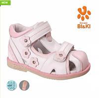 Кожаные ортопедические сандалики BiKi 4443D р.21-26
