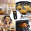 Bluetooth цифровой мясной термометр с зондом и металлическим зажимом для барбекю, фото 2