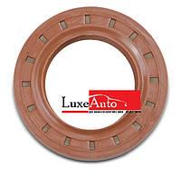 Сальник привода переднего колеса ВАЗ 2110-12, 21214 лев. 35x57x9 мм, красный 2110-2301035Р БРТ