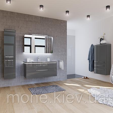 """Комплект мебели в ванную комнату """"Паскаль"""" (тумба+раковина+пенал+подсветка), фото 2"""