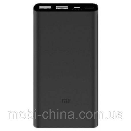 Универсальный аккумулятор Xiaomi Mi Power 2 10000 mAh Grey Quick Charge 3.0 2USB