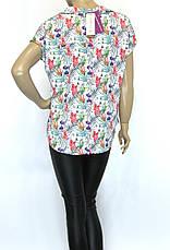 Атласная блузка с шелком, фото 2