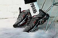 Мужские кроссовки в стиле Nike Air Max Tn Plus (gray/black), Найк аир Макс Тн плюс (Реплика ААА)