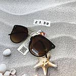 Солнцезащитные очки коричневые, фото 2