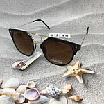 Солнцезащитные очки коричневые, фото 3