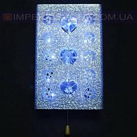 Светильник бра, настенное галогеновое IMPERIA одноламповый со светодиодной LED подсветкой LUX-440603