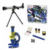 Детский набор 2 в 1 Телескоп + Микроскоп С2112