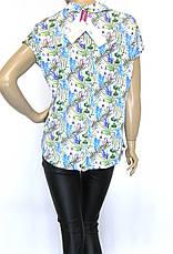 Стильна жіноча атласна блузка-сорочка, фото 3