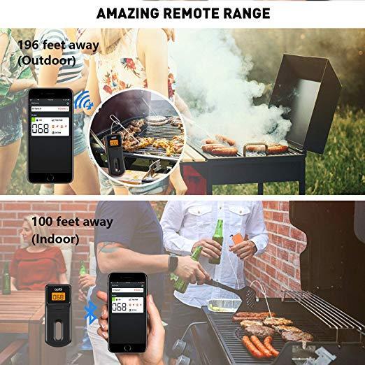 Bluetooth цифровой мясной термометр для барбекю