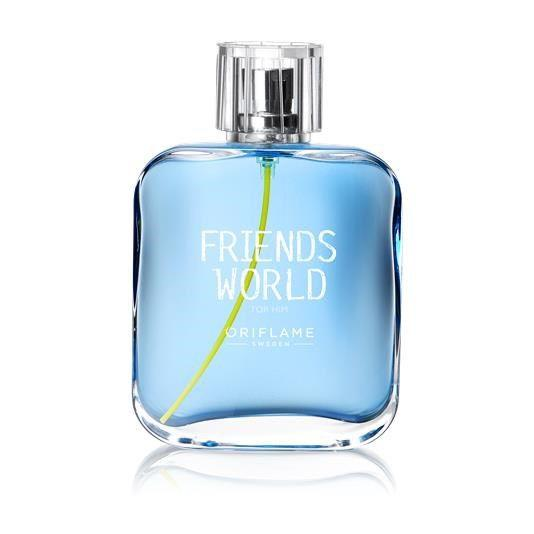Туалетная вода Friends World For Him ( Фриендс Ворлд фо Хим) Орифлейм