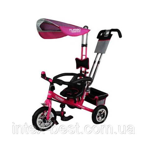 Трехколесный велосипед  М 5378-1 розовый, фото 2