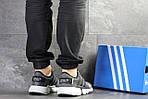 Мужские кроссовки Adidas (Серые) , фото 2
