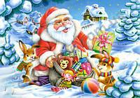 Пазлы Санта Клаус на 500 элементов
