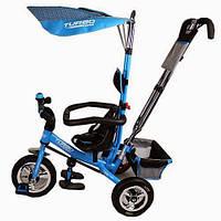 Трехколесный велосипед  М 5378-2 голубой