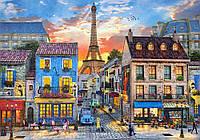 Пазлы Улицы Парижа на 500 элементов