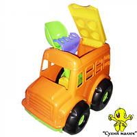 Автобус Бусик COLORPLAST лопатка, грабельки арт. 0084   - CM01306
