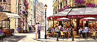 Пазлы Влюбленные в Париже 600 элементов
