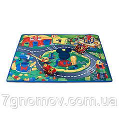 Игровой мат Дисней Мики и Гуфи с набором машинок (Disney Mickey & Goofy Play Mat & Vehicles Play Set)