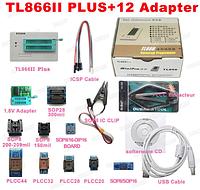Программатор MiniPro TL866II plus + 12 адаптеров
