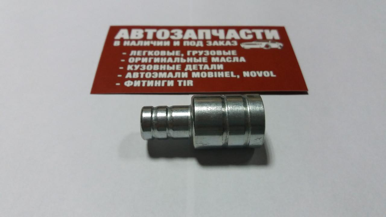 Переходник шланга Д12 - Д16 металлический