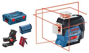 Лазерный нивелир Bosch GLL 3-80 C + BM 1 (12 V) + L-Boxx