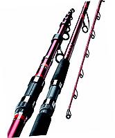 Спиннинг дешевый телескопический 2,4м