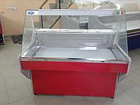 Витрина холодильная с прямым стеклом Garda 1,5 м.