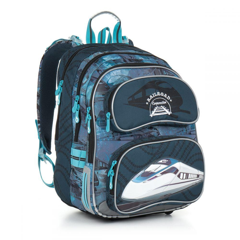 00ccb3b305c6 Школьный рюкзак Topgal 710 CHI 865 D Blue - Интернет-магазин Topgal в Киеве