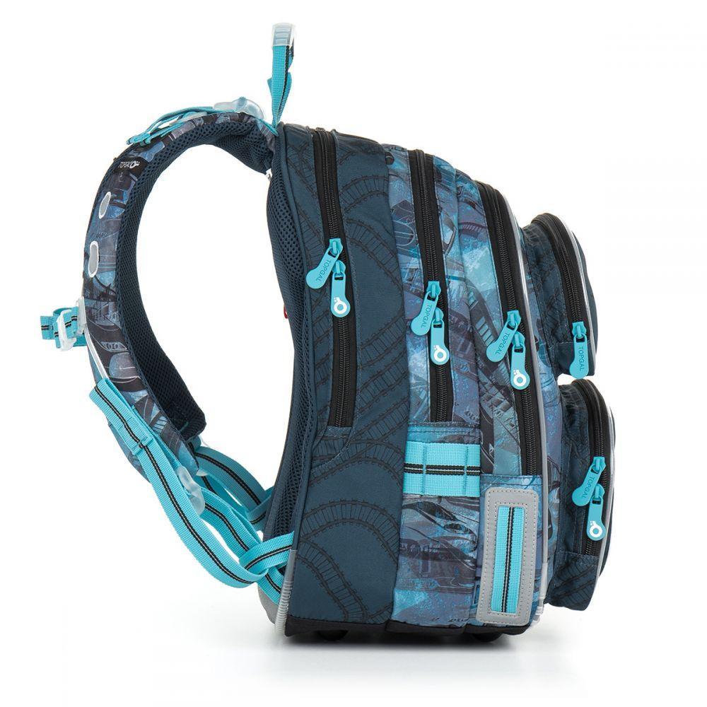 811d0c21d67b Школьный рюкзак Topgal 710 CHI 865 D Blue, цена 2 155 грн., купить в Киеве  — Prom.ua (ID#917326357)