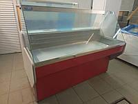 Витрина холодильная с прямым стеклом Garda 1,8 м.