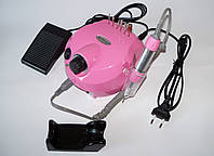 Фрезер для маникюра и педикюра NAIL Master POLISHER DM-202, 25000 об мин, розовый