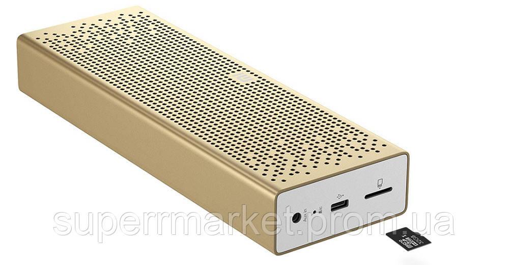 Портативная акустика Xiaomi Mi Bluetooth Speaker Gold  QBH4089CN  + SD-слот
