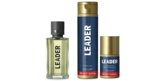 Мужской парфюмерный набор Leader Oriflame