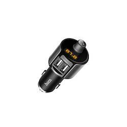 FM-трансмиттер модулятор Hoco + Автомобильное зарядное устройство E19 Bluetooth 2.4A 2USB Wireless (E19)