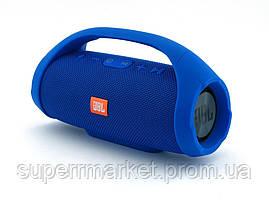 JBL Boombox mini E10 10w копия, портативная колонка с Bluetooth FM MP3, синяя, фото 2