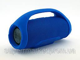 JBL Boombox mini E10 10w копия, портативная колонка с Bluetooth FM MP3, синяя, фото 3