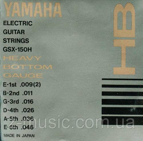 Струны для электрогитары YAMAHA GSX150H