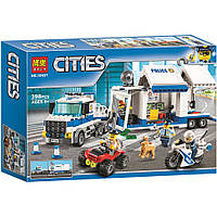 """Конструктор """"CITIES"""" 10657  """"Мобільний командний центр""""   398дет.  р.41*28*6,5см."""