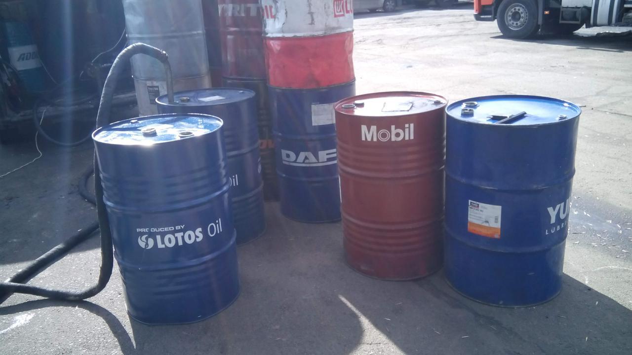 Отработанное масло (отработка) - вывоз и утилизация в Киеве