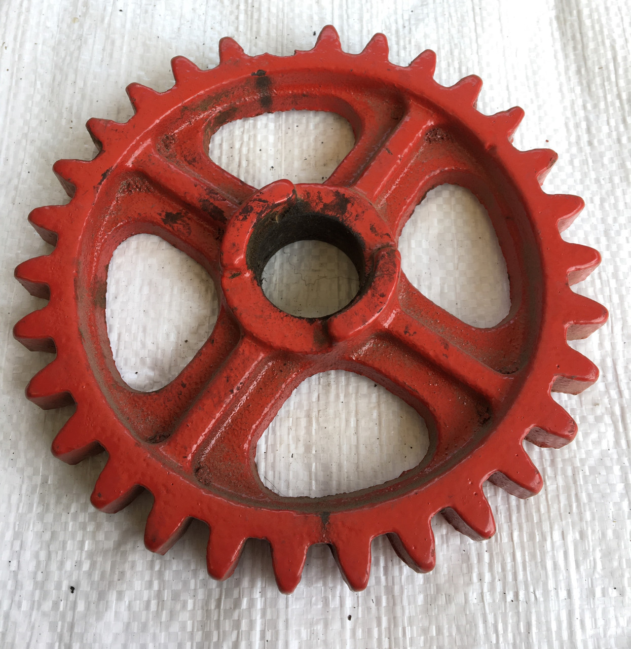 ЗУБЧАТКА РЕДУКТОРА  (колесо зубчатое) СЗГ 00.119 (СЗТ)  z=30, d=35, D=190