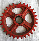 ЗУБЧАТКА РЕДУКТОРА  (колесо зубчатое) СЗГ 00.119 (СЗТ)  z=30, d=35, D=190, фото 2